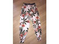 Trousers Flowery Baggy Summer