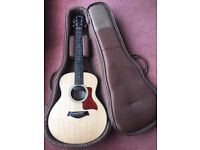 Taylor GS Mini acoustic guitar fitted with optional Taylor ES-Go pickup