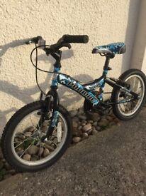 "Boys 16"" probike wolf bike"