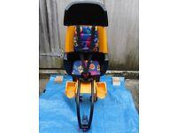 Hamax childs bike seat