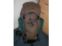 Hi-Gear 70 litre large rucksack