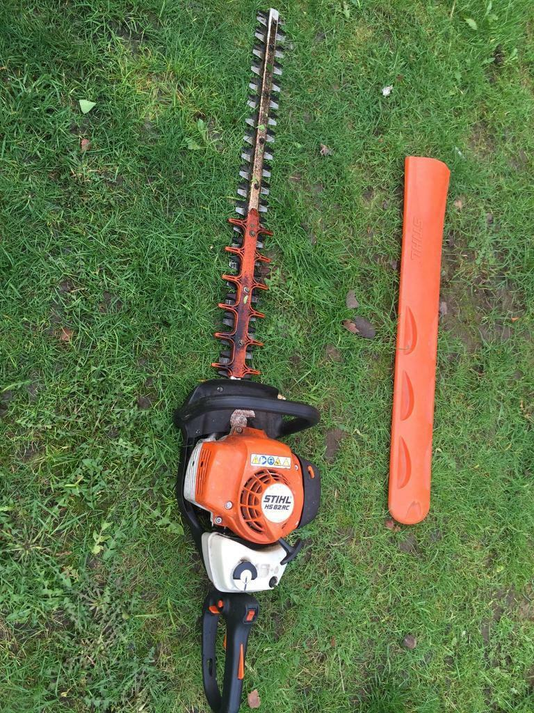 Stihl hs82 rc petrol hedge cutters