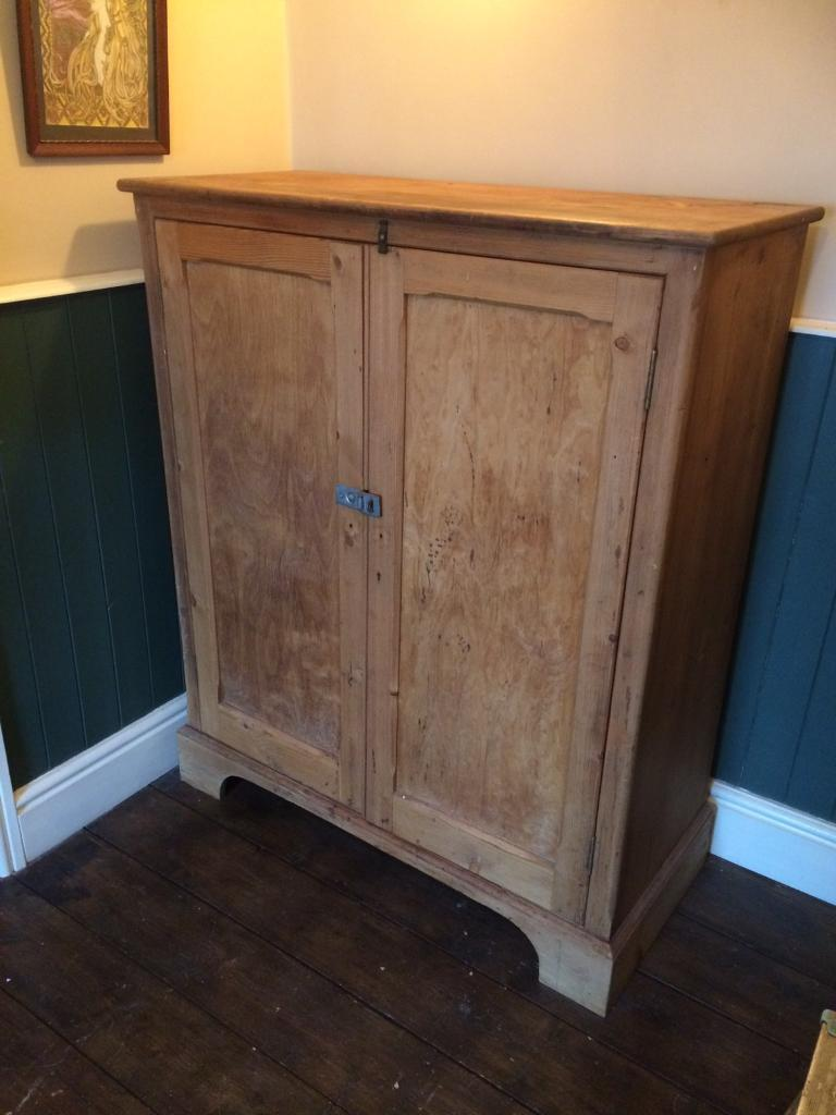 Antique Pine Larder/ cupboard - Antique Pine Larder/ Cupboard In Fishponds, Bristol Gumtree