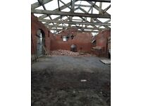 Vintage Yorkshire Barn Trusses Dating back to 1880s. 11 metres x 3 metres
