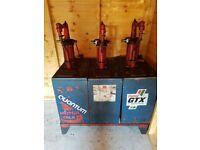 Vintage Oil Tank & Dispenser Units