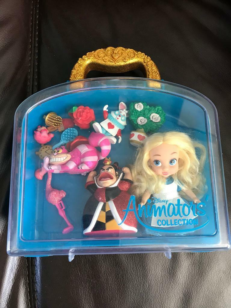 Barbie Mini Doll Case with Doll Blue