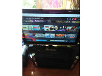 40 inch lcd tv, good working order, comes with remote and stand,