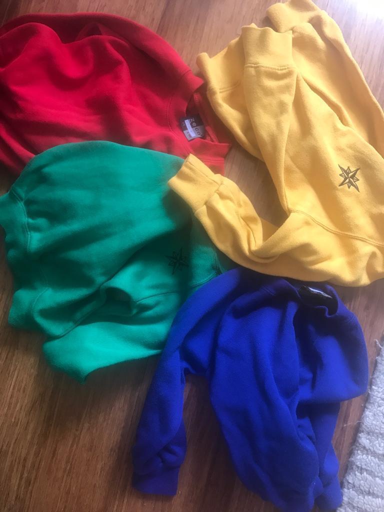 Sir William Burrough primary school uniform size 4in Tower Hamlets, LondonGumtree - 4 sweatshirts for Sir William Burrough primary school in Tower Hamlets in size 4