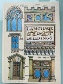 Book LANGUAGE OF THE BUILDINGS