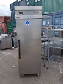 Commercial fridge upright single door fridge Blizzard stainless steel +warranty