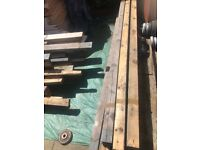 Treated timber / garden /building 4x2 £8 bundle 2