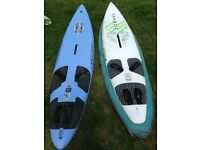 Fanatic Gecko 105ltr and 89ltr Windsurfing Boards