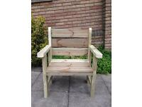 Garden furniture single chair