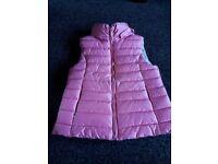 Pink Zara bodywarmer