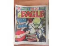 55 x Eagle comics from 1983