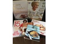 A selection of lovely cookery books
