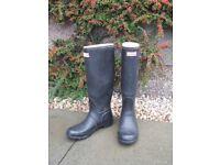 Hunter Wellington Boots Ladies size 6