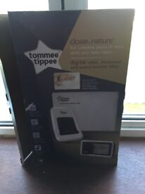 Tommee tippee digital video,movement and sound monitor