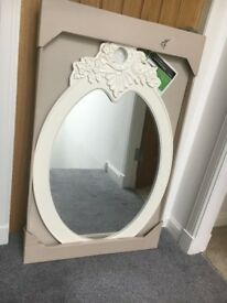 Large new ornate mirror