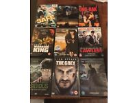 13 DVDs including Batman, Lawless and The Grey