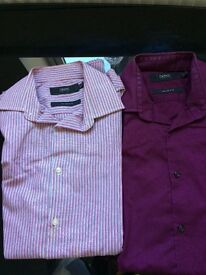 Formal Twin Next Men' s slim fit shirts 14.5