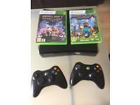 Xbox 360 & Minecraft games