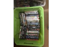 Boxes of DVD's £5 each