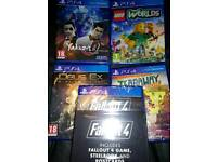 5 PS4 Games (New)