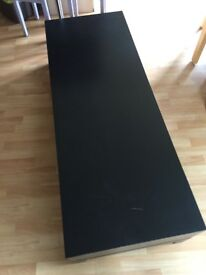 Ikea lack coffee table tv bench