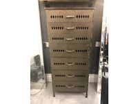 Hand made metal drawers