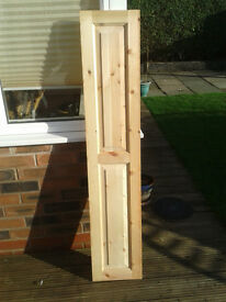 Pine panelled doors (Very well made solid doors not hollow)