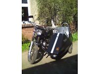 Sidecar Outfit. 1960 Tax Exempt Triumph with Squires sidecar. V5 present.
