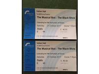 2 tickets for 'The Musical Box', Usher Hall, Edinburgh; Sat 21st October