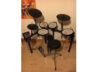 Roland TD-11KV V-Drums V-Compact Drum Kit with Accessory Bundle