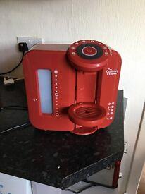 Red prep machine