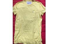 Jack Wills yellow t-shirt