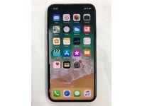 Apple i phone X new under warranty unlocked