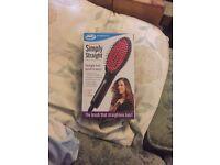 Simply straight hair brush unused
