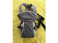 Mothercare baby carrier 2 position sling