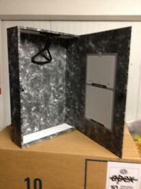 A4 rigid box files
