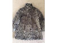 Faux Fur Coat Age 9-10yrs