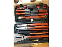 Heavy duty Prima BBQ utensil set
