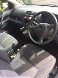 Honda Civic for sale, mot until July 2019