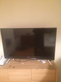 42 inch Samsung TV. 4 months old and mint condition