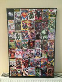 DC Comics Comic Book Cover Picture - Batman Superman Justice League - Enderby - STA21