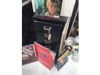 60's Black filing cabinet - jsd