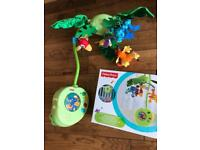 Fisher price cot mobile - immaculate