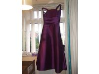 Childs purple Bridesmaid dress