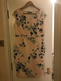 Pink and navy Dorothy Perkins dress size 14