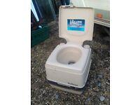Porta potti toilet ideal for caravan or camper van small size